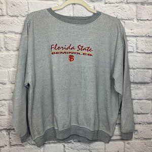 Florida State Seminoles Sweatshirt Pro Edge Gray